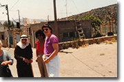 West Bank Israel with producer Roxanne Russell